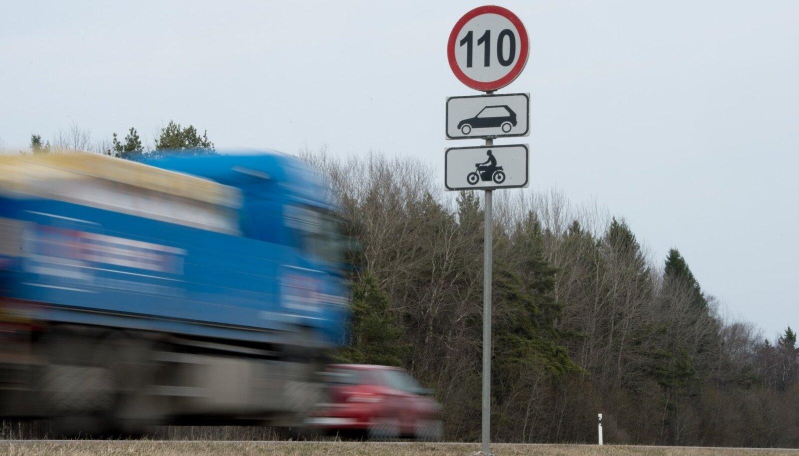Liiklusmärk 110