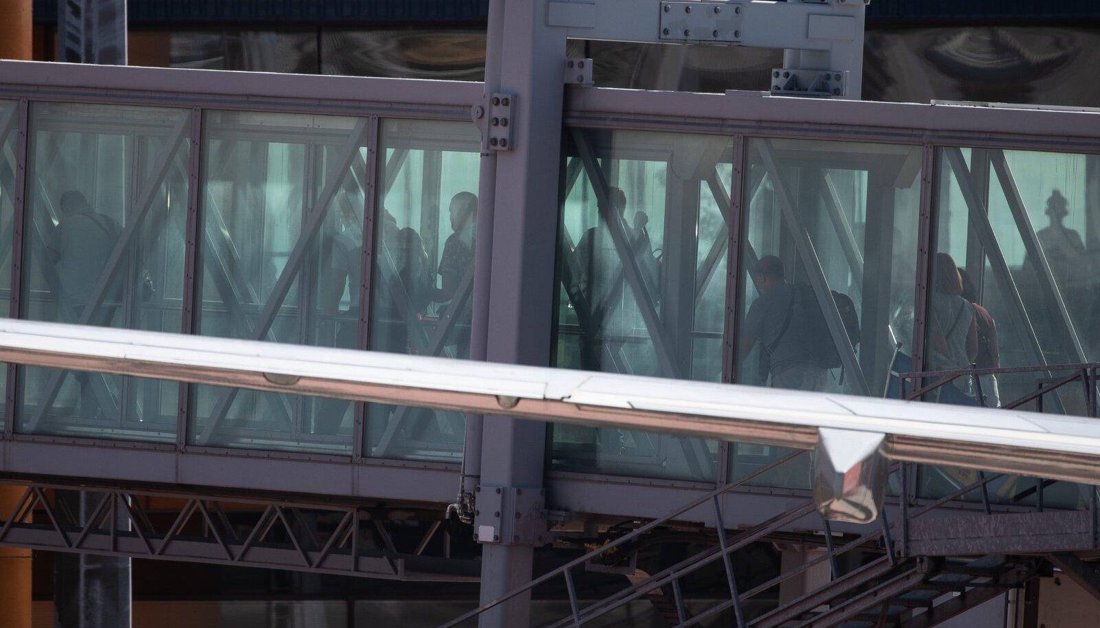 21.07.2020. Ukraina võõrtööliste tšarterlend maandus Tallinnas.