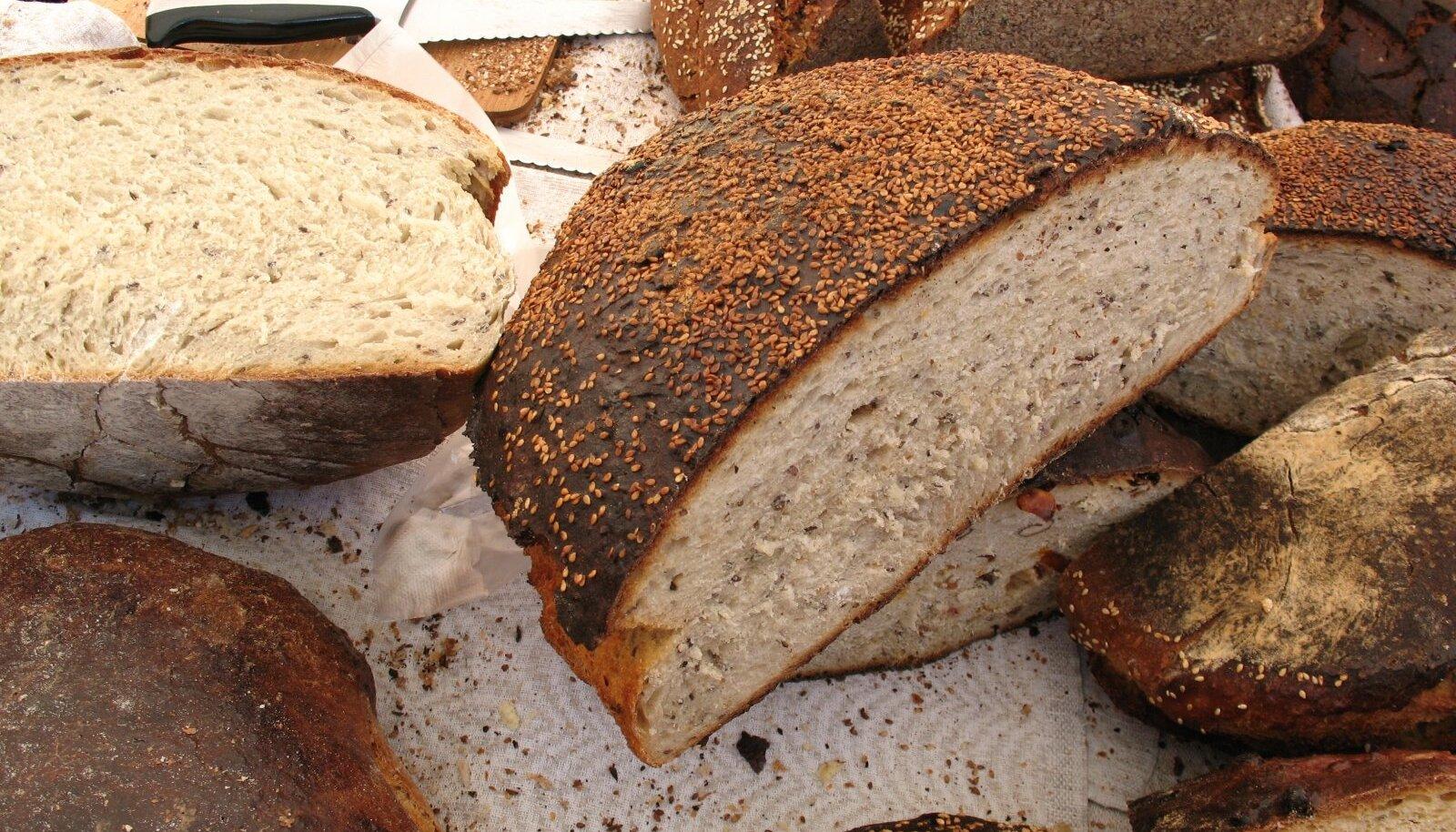 Lätis küpsetatud leib