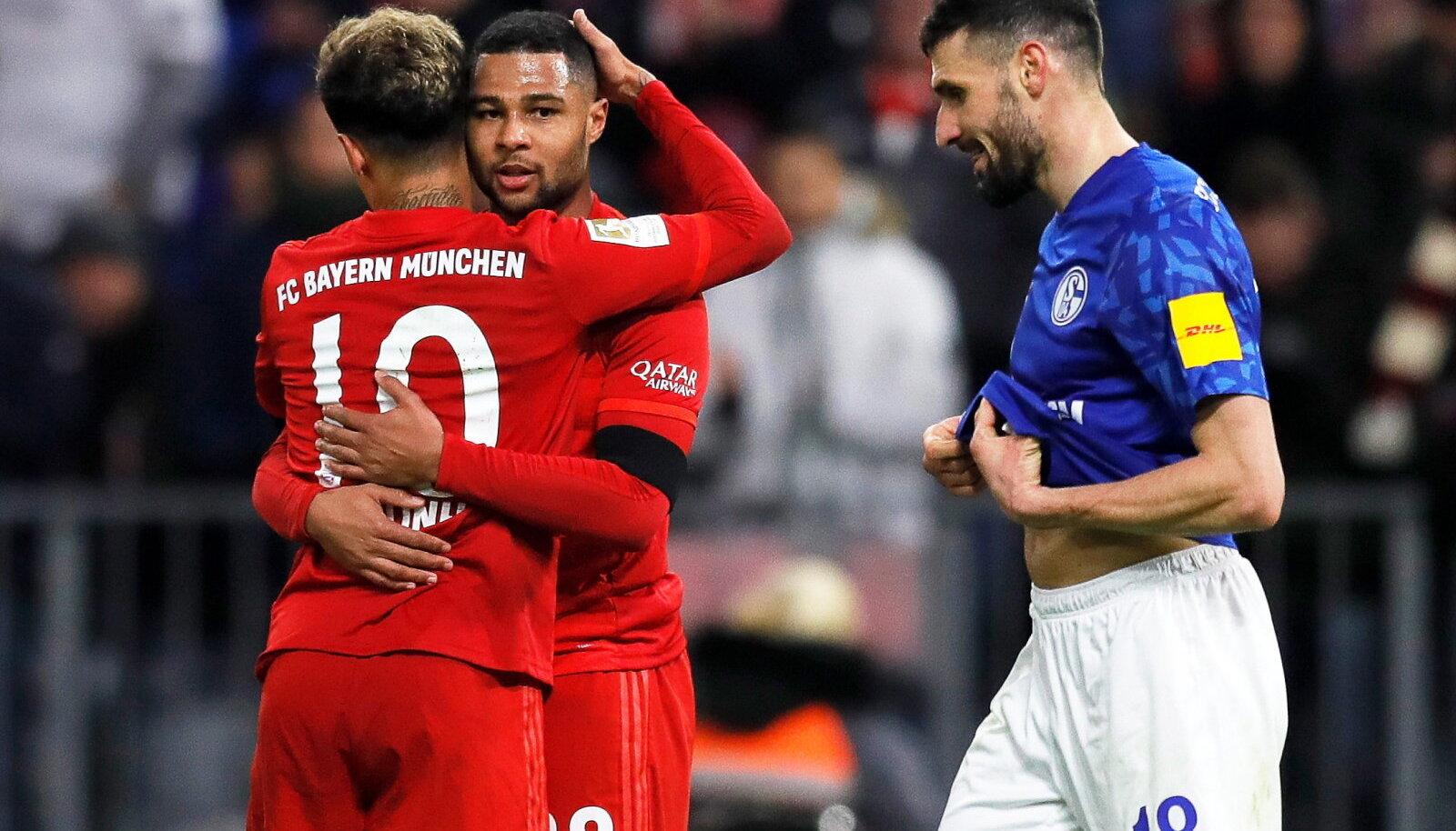 Bayerni mängumehed matšis Schalkega