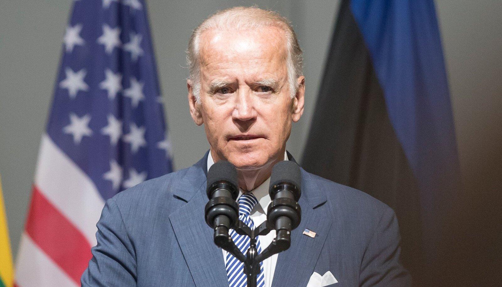 USA asepresident Joe Biden Riias