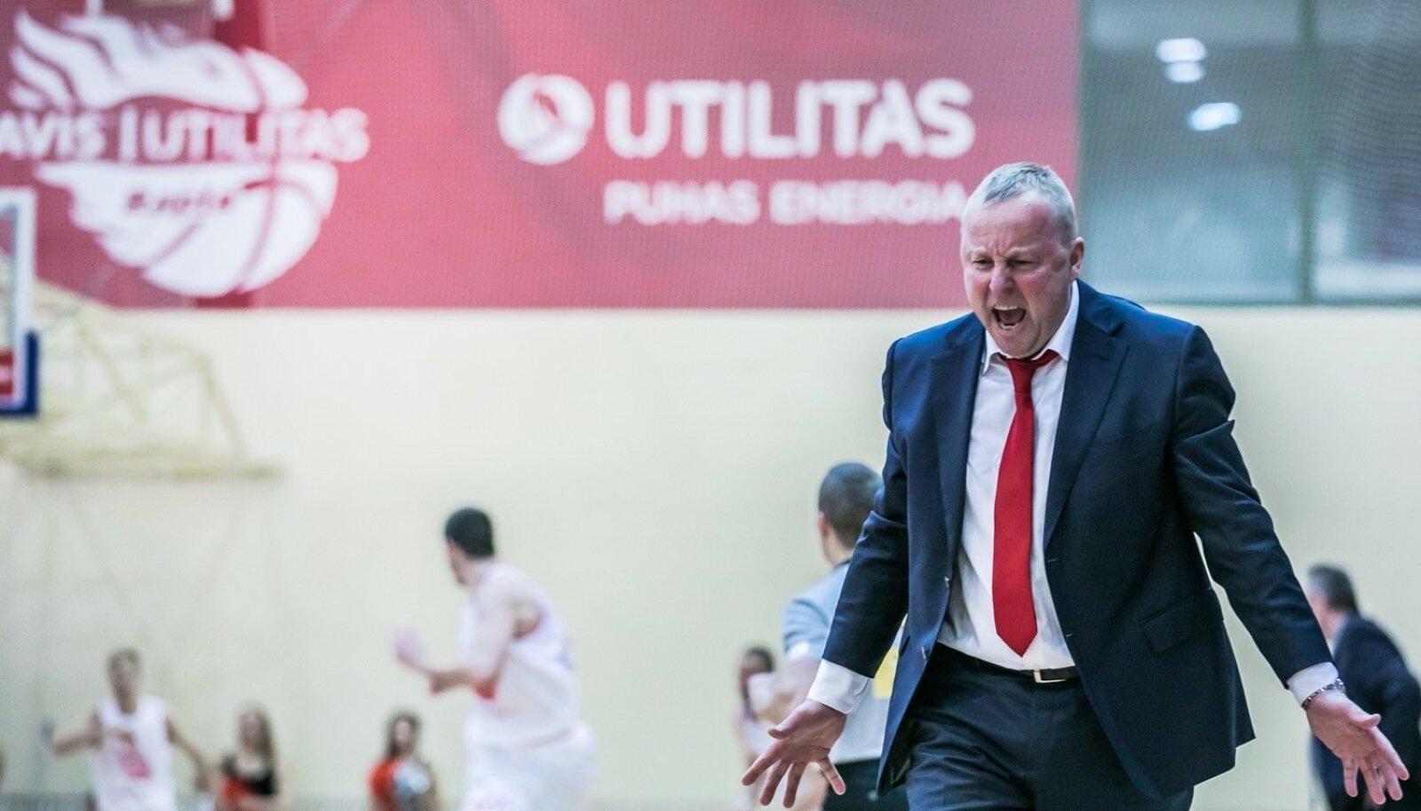Avis Utilitas Rapla peatreener Aivar Kuusmaa.