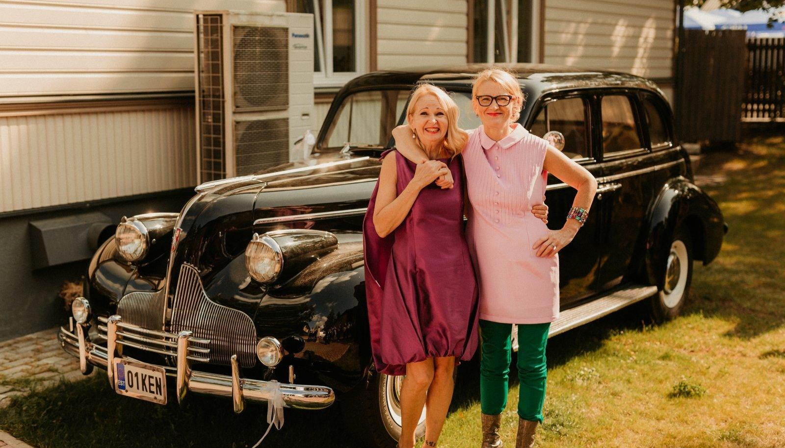 Vintage-õed Ewa-Kaisa ja Katre.