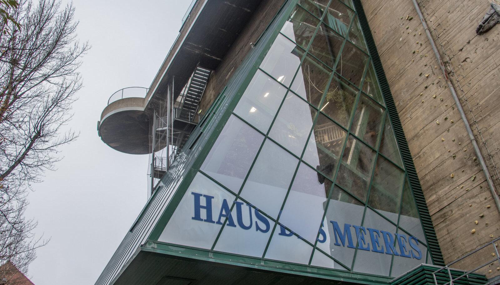 Ühes õhutõrjetornis asub tänapäeval looduskeskus ja Viini akvaarium