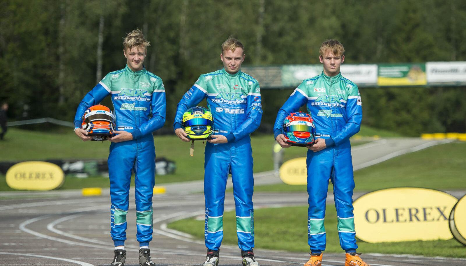 Fotol vasakult Markus Kajak, Siim Leedmaa ja Ken Oskar Algre. Foto autor Tõnis Krikk.