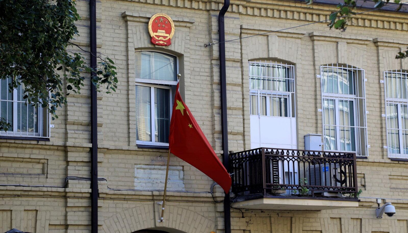 Hiina saatkond Vilniuses