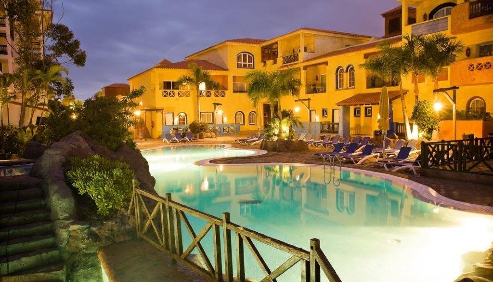 Park Club Europe 3+ hotell, kus tarbijavaidluste komisjoni pöördunud klient oli majutatud.