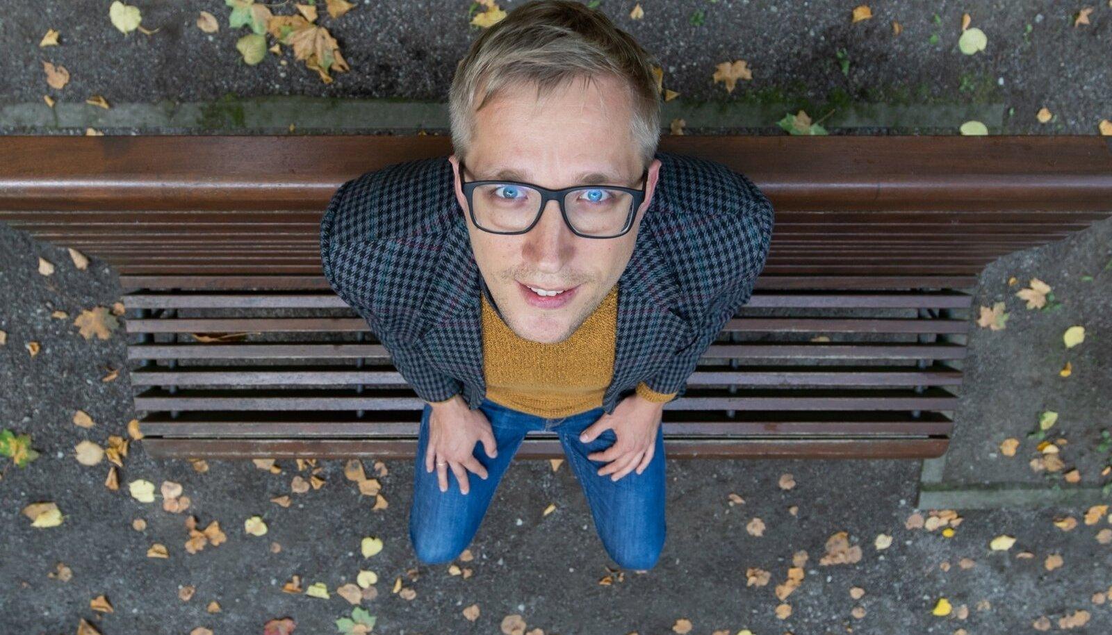 Intervjuu Johannes Trallaga sündis talle koduses ja armsas Kalamaja pargis.