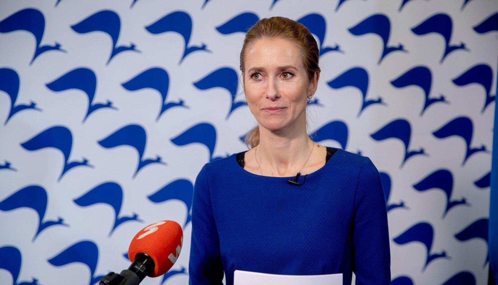 Eesti peaminister Kaja Kallas