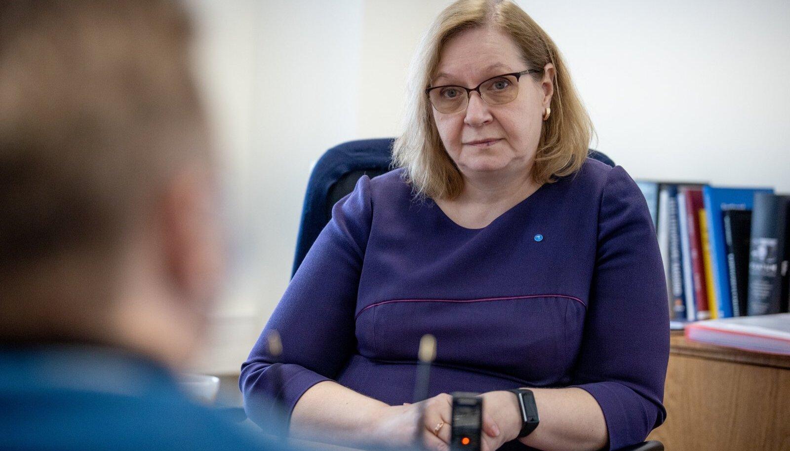 justiitsminister rahandusministri ülesannetes Maris Lauri