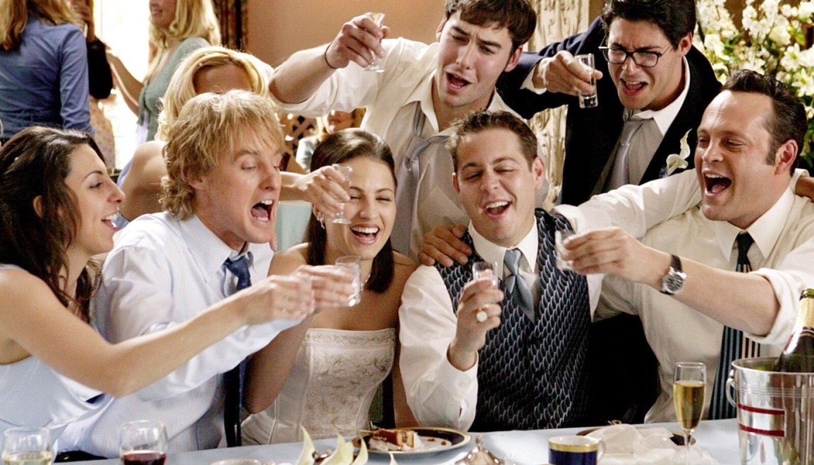 """Illustreerival eesmärgil kaader filmist """"Wedding Crashers"""" (foto: filmi tootjad)"""