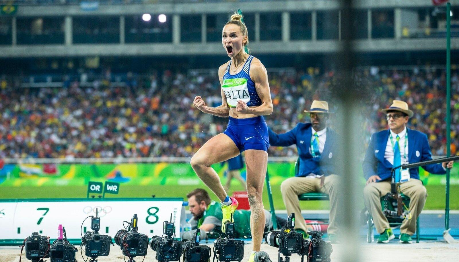 Ksenija Balta Rio de Janeiro olümpial.