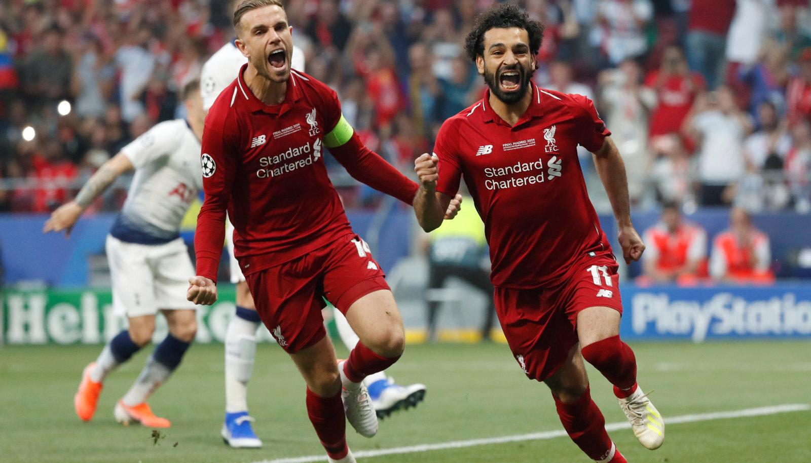 Salah viis penaltist Liverpooli juhtima