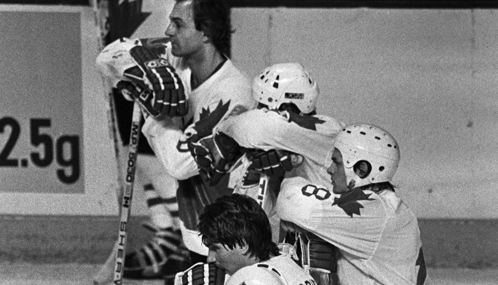 Поверженная сборная Канады