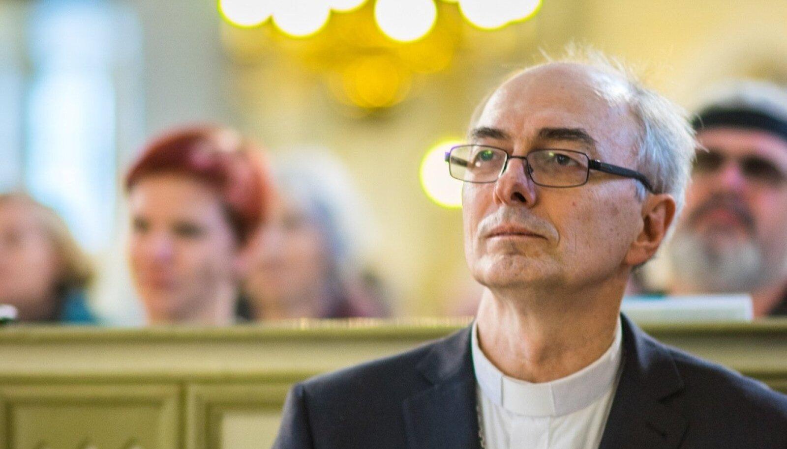 """Jaan Tammsalu raamatu """"Igaviku hääl"""" esitlus Jaani kirikus"""