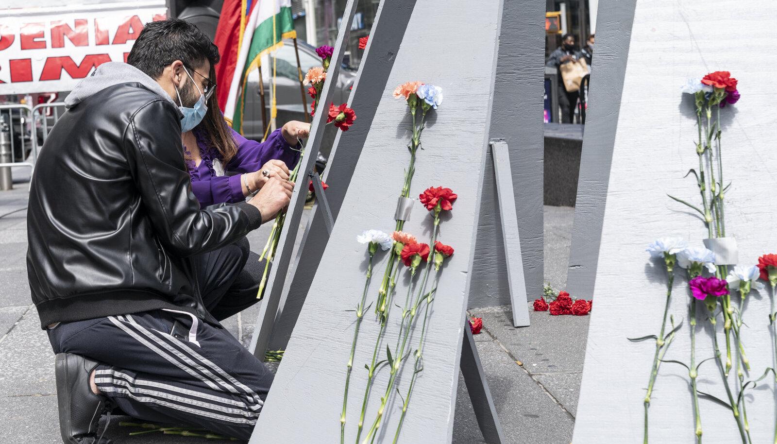 Armeenia genotsiidi ohvrite mälestamine tänavu New Yorgis.