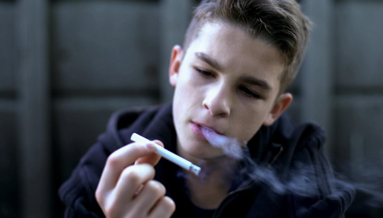 Teismelise käitumine muutus kanepi tarvitamise tagajärjel täielikult
