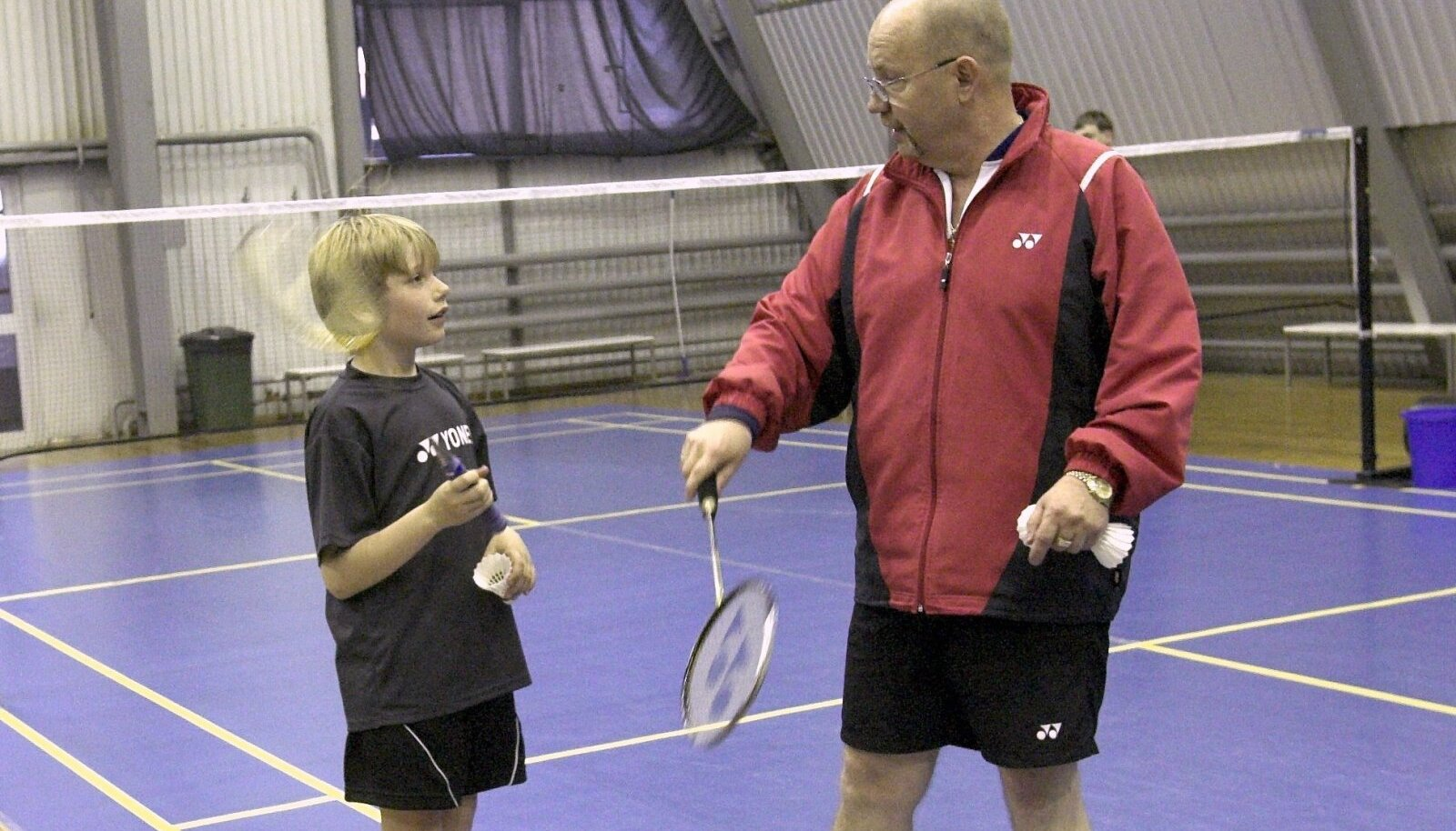 Alfred Kivisaar Tallinna Noorte Spordikeskuses 2007. aastal
