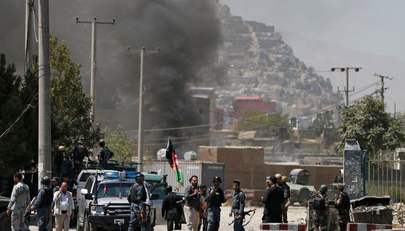 Afganistani Talibani rünnak