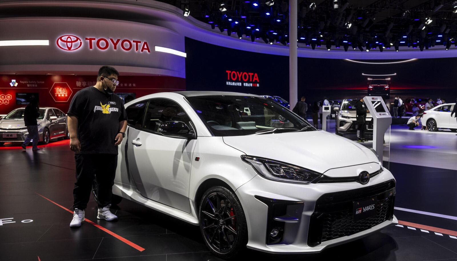 Hetkel uusim Toyota Yaris