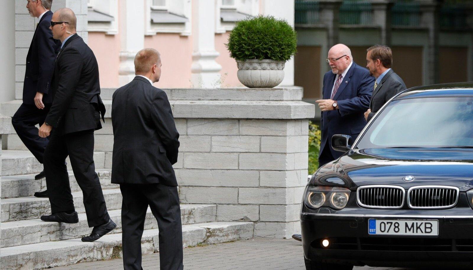 USA luureameti juht kohtub presidendiga