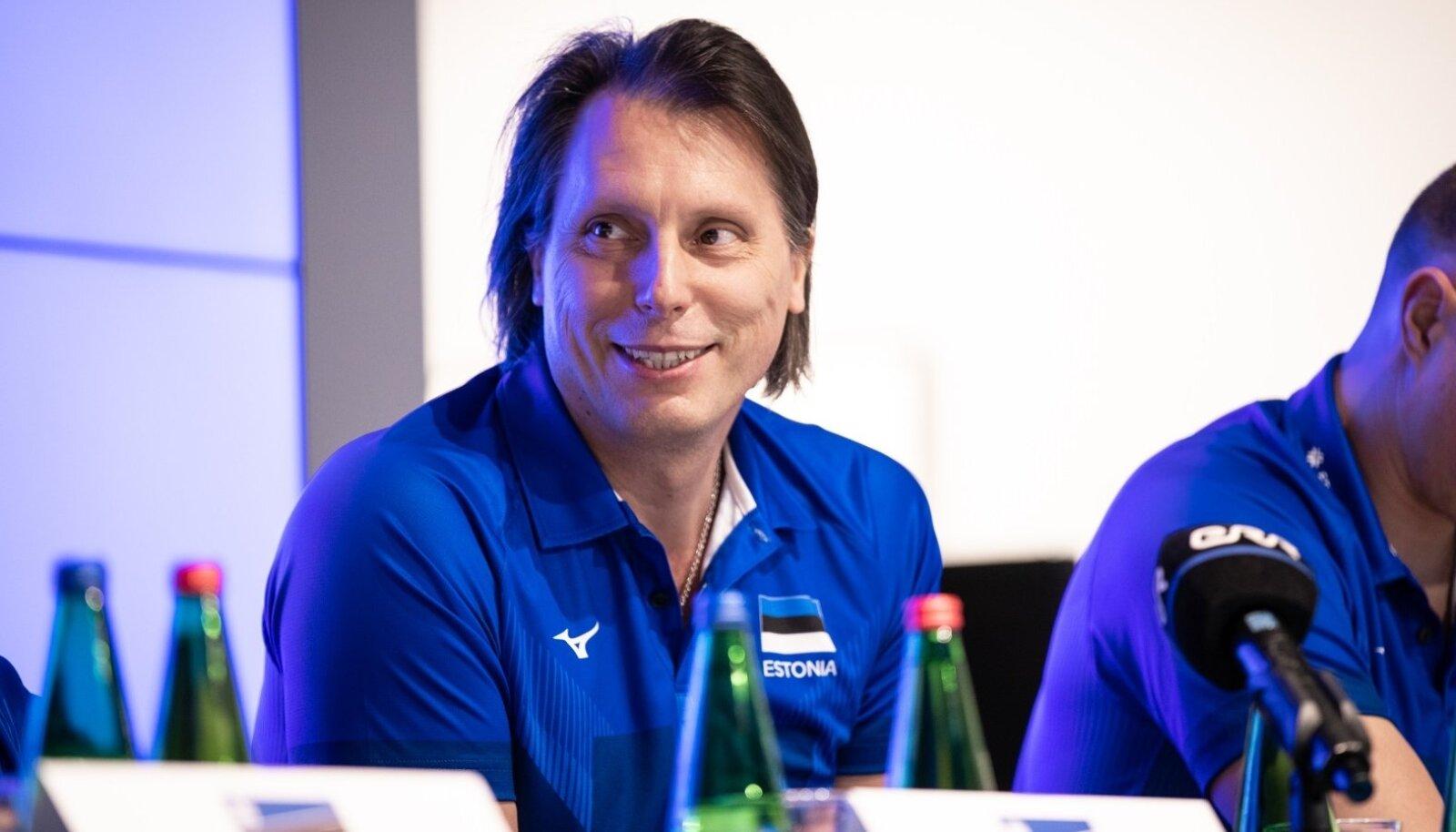 Eesti koondise peatreener Gheorghe Cretu