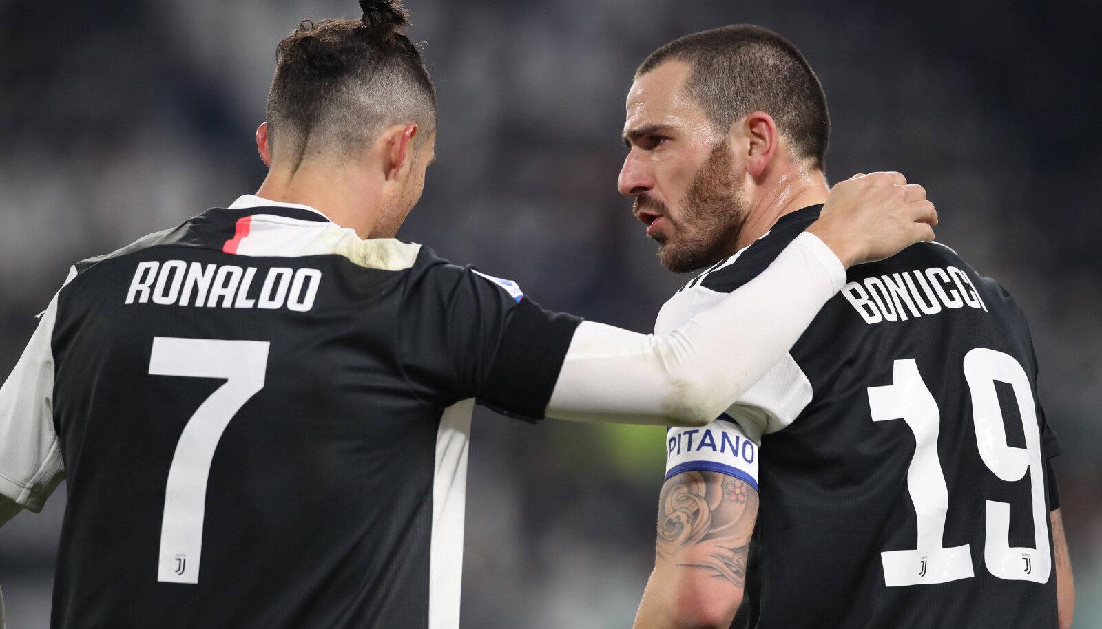 Cristiano Ronaldo ja Leonardo Bonucci