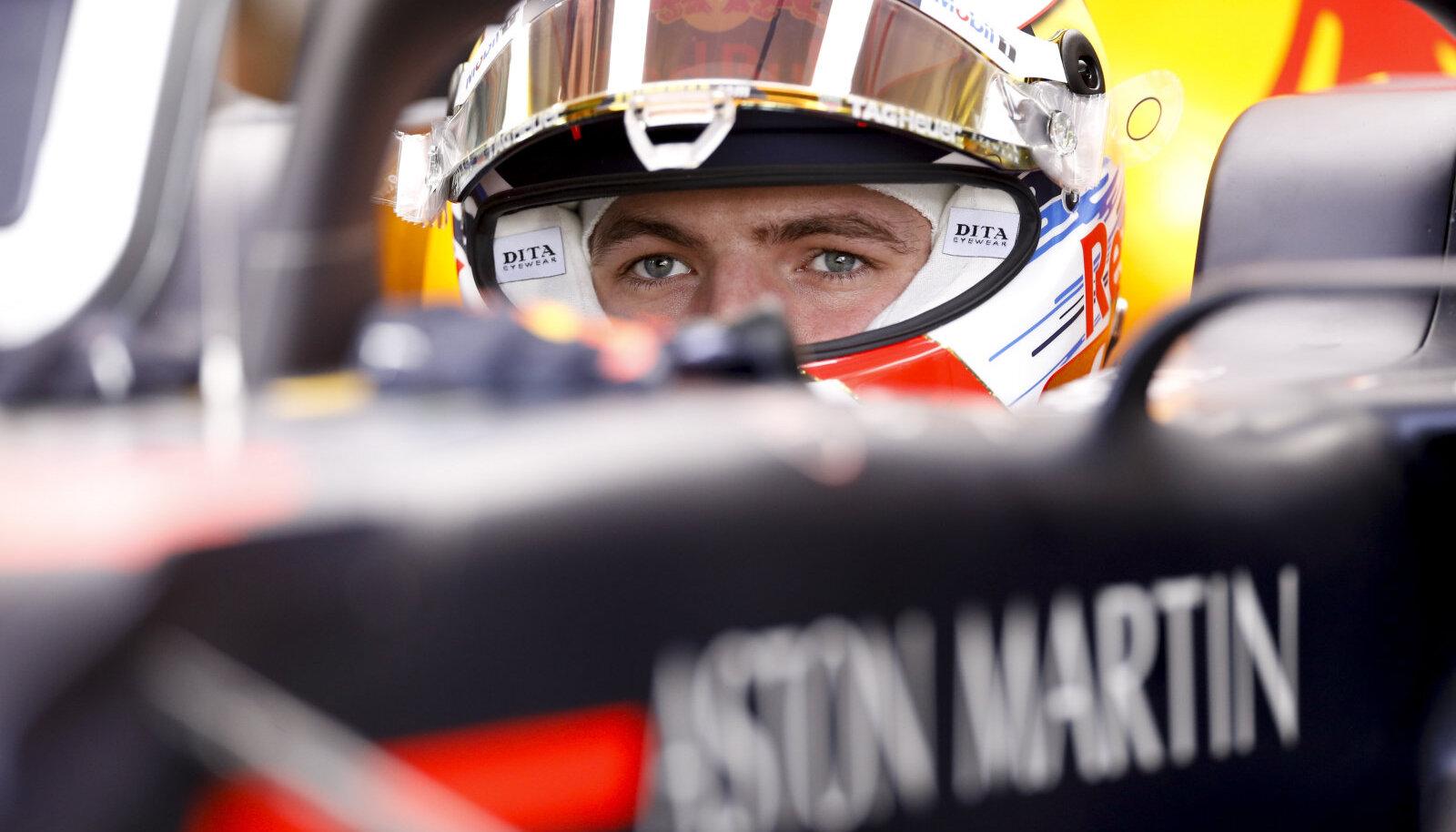 Max Verstappen teenis karjääri teise kvalifikatsioonivõidu.