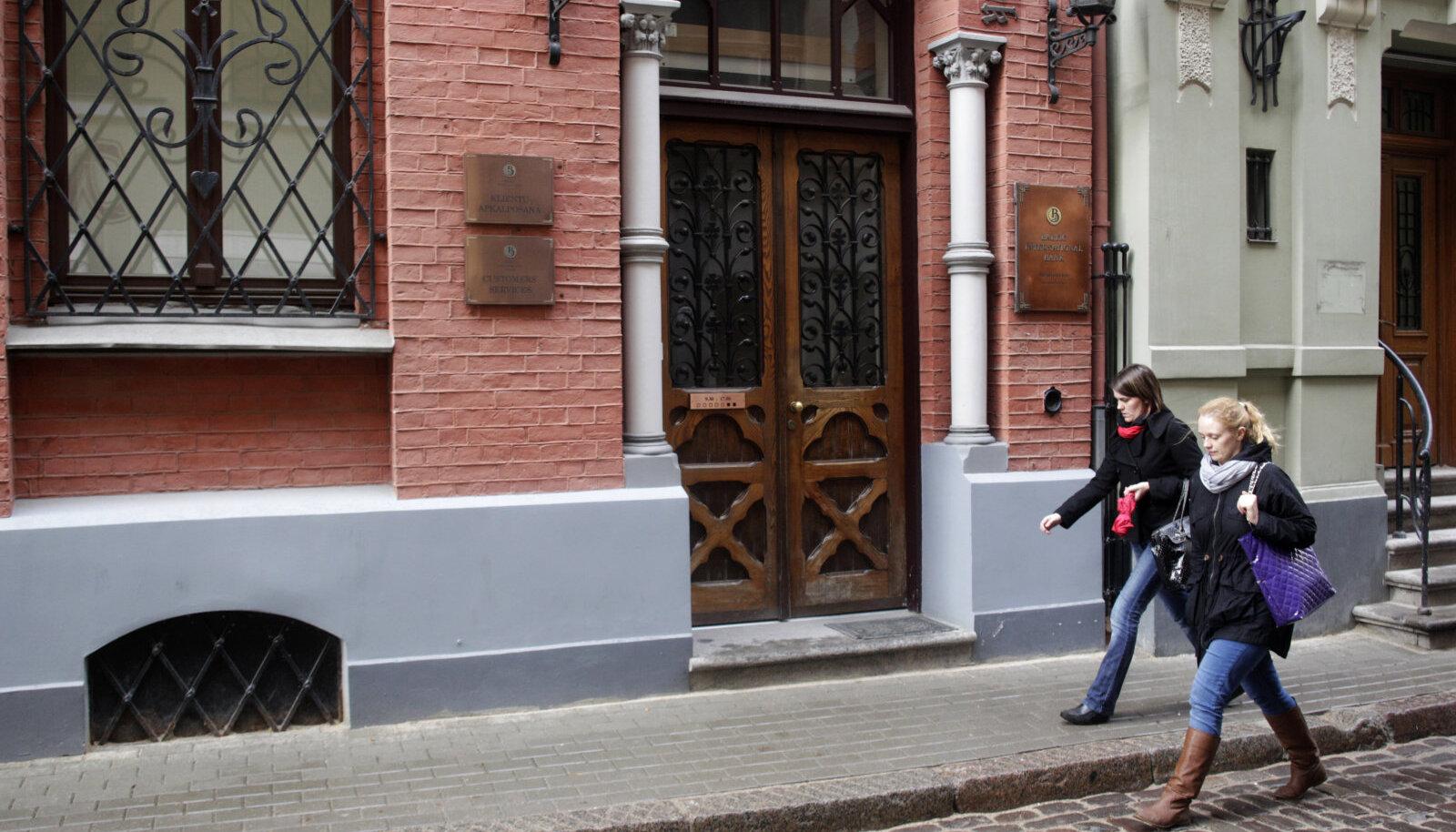 Balti Rahvusvahelise Panga kontor Riias
