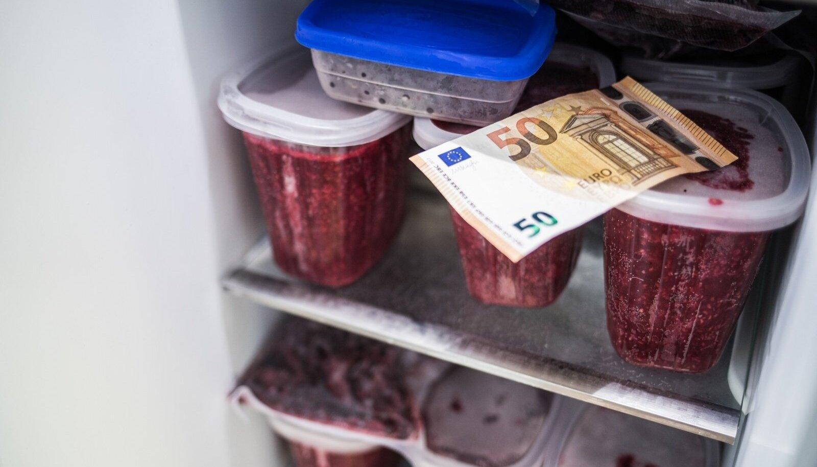 Raha külmutamine