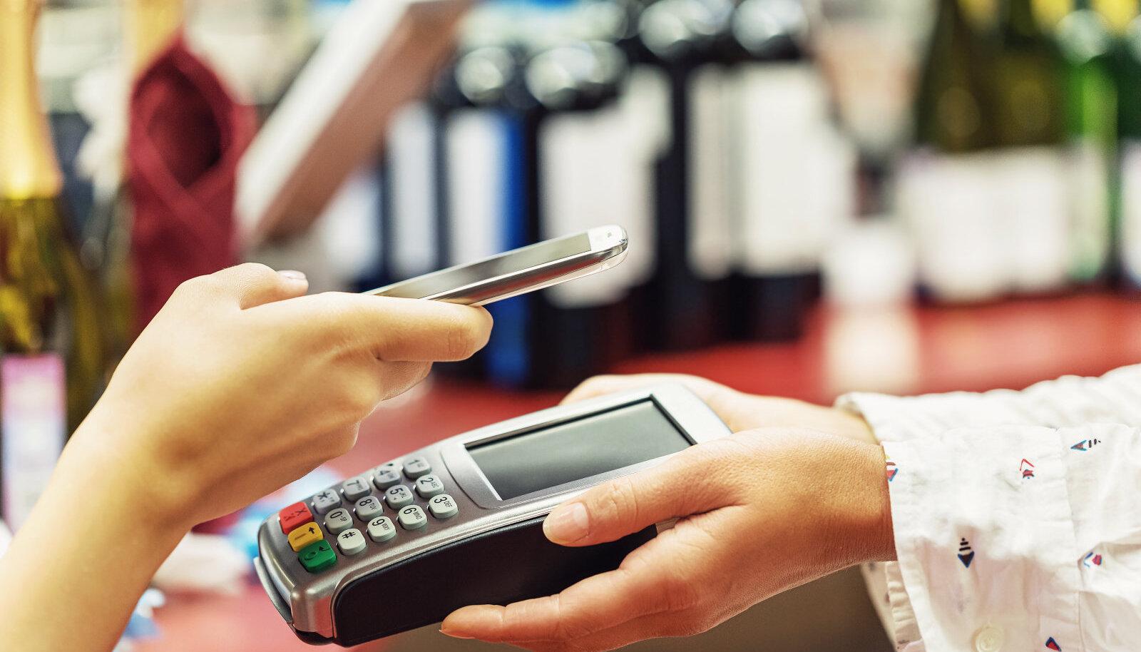Mobiiliga ostu eest tasumine
