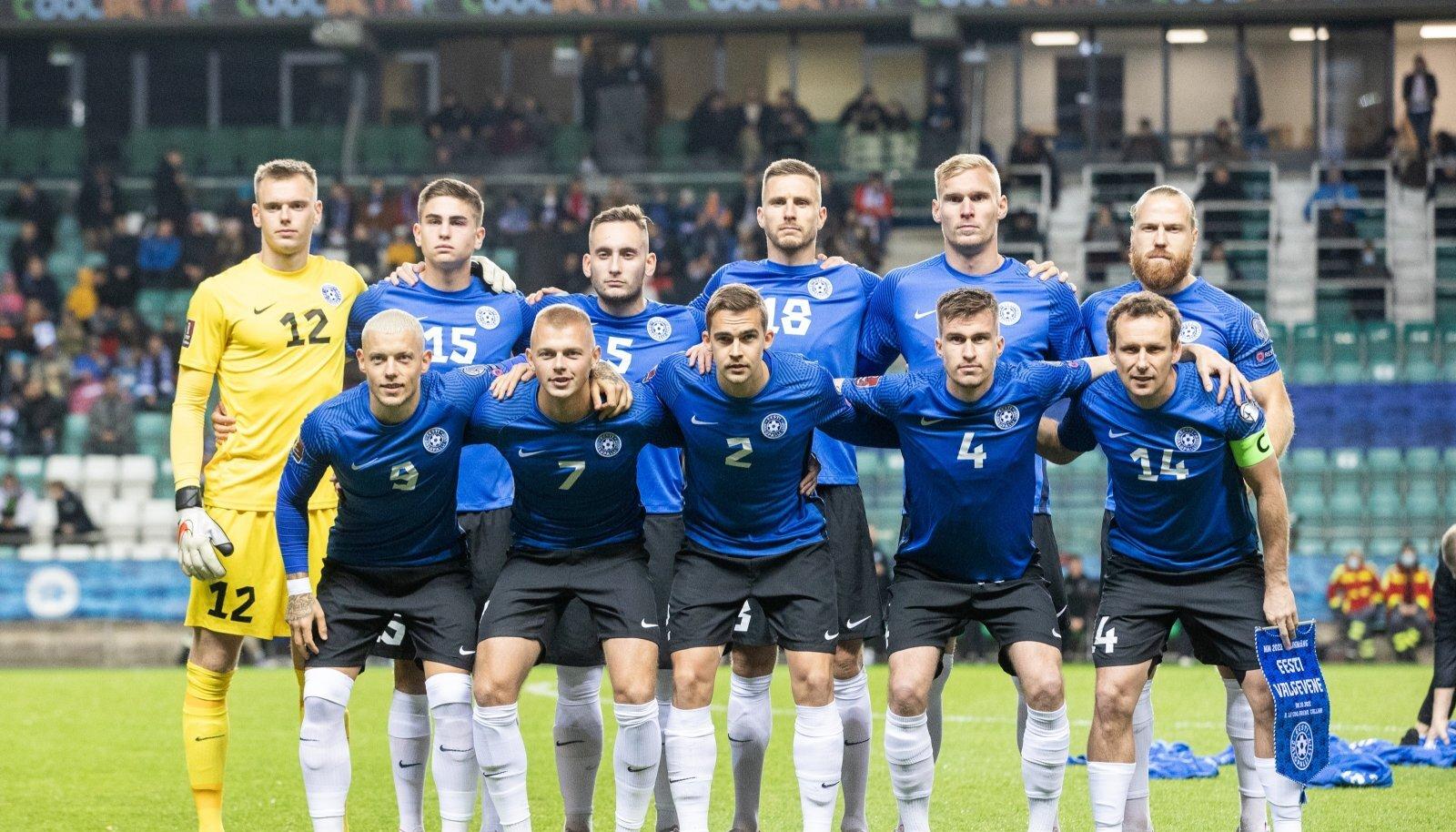 Eesti - Valgevene jalgpalli MM-valikmäng A. Le Coqil