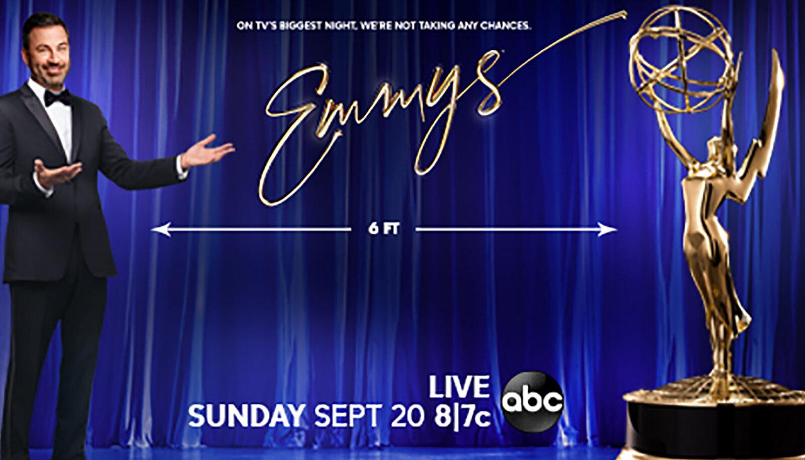 Emmy auhinnagalat juhib Jimmy Kimmel