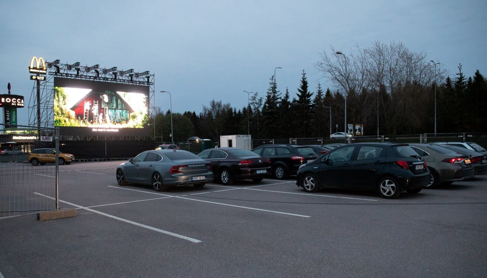 Tallinn, 15.05.2020. Drive-In kino Rocca Al Mares.