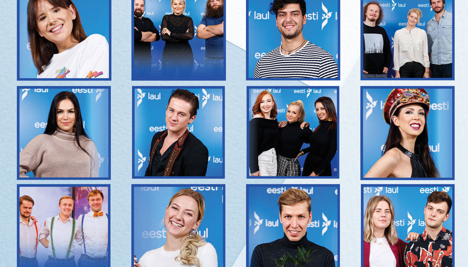Eesti Laul 2020 I poolfinaali osalejad