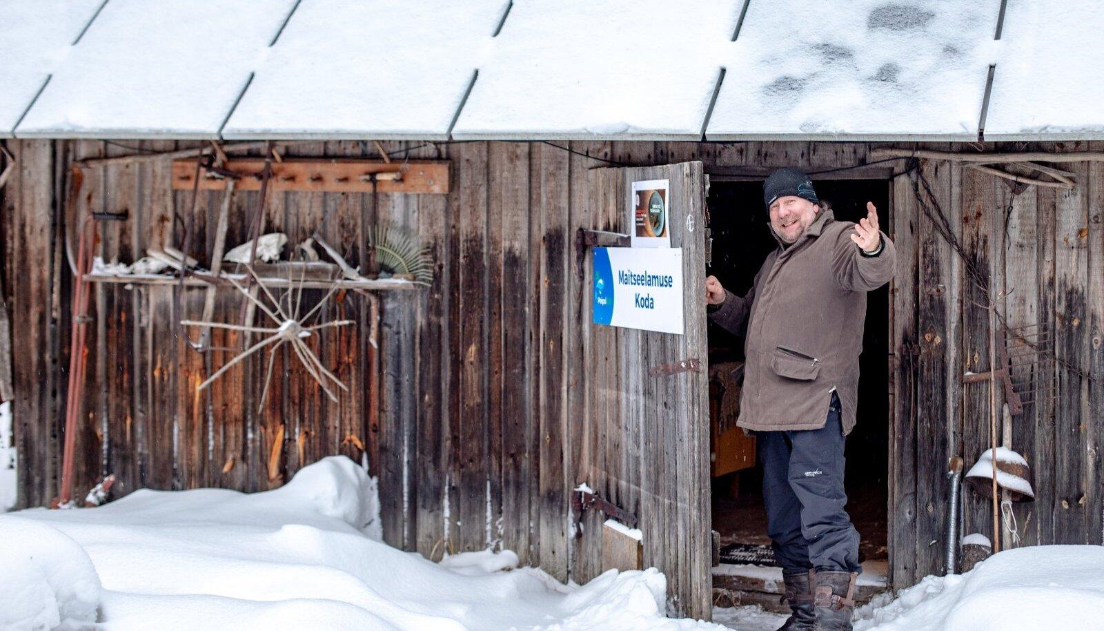 """Sügisel peetud Lõuna-Eesti maitsete nädala """"Metsast taldrikule"""" raames rajas Tauno koduaita pop-up restorani, mis võib uksed avada ka tänavu."""