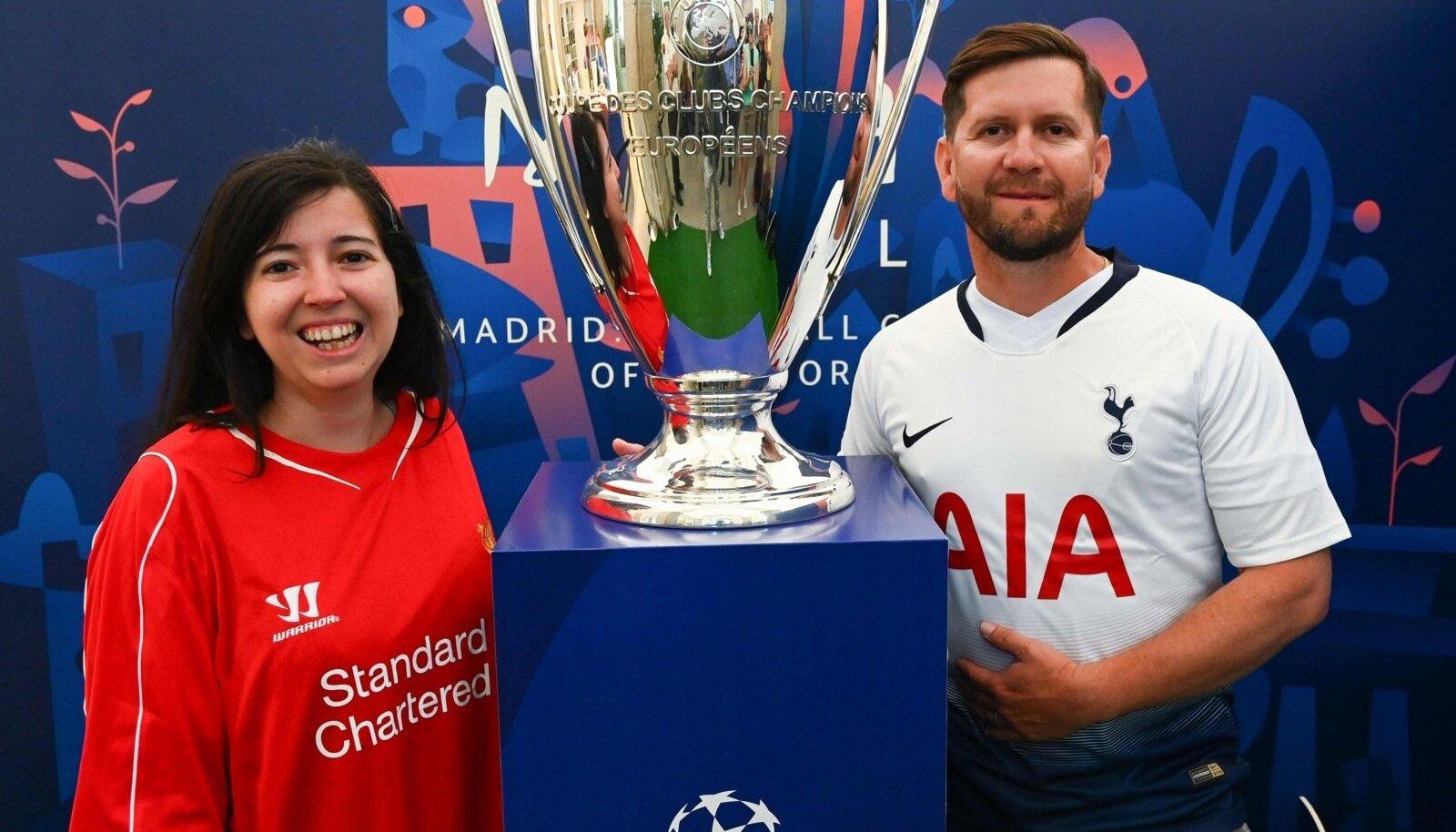 Liverpool ja Tottenham Hotspur