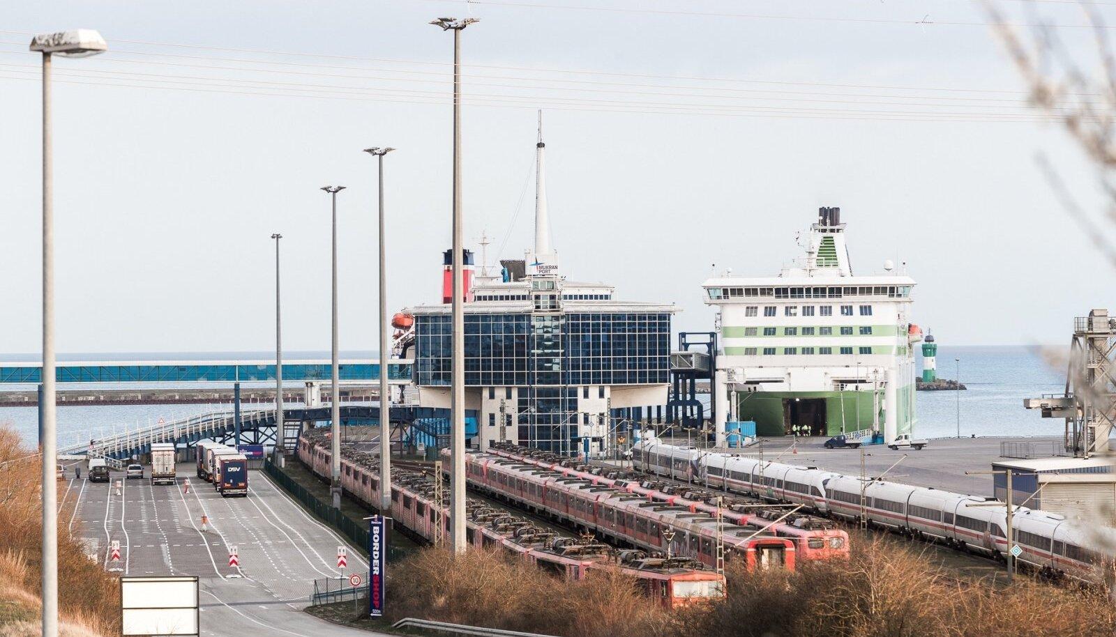 Tallink Star Sassnitzi sadamas