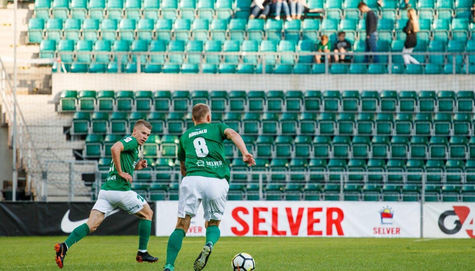 Tallinna FC Flora jalgpallur Mihkel Ainsalu