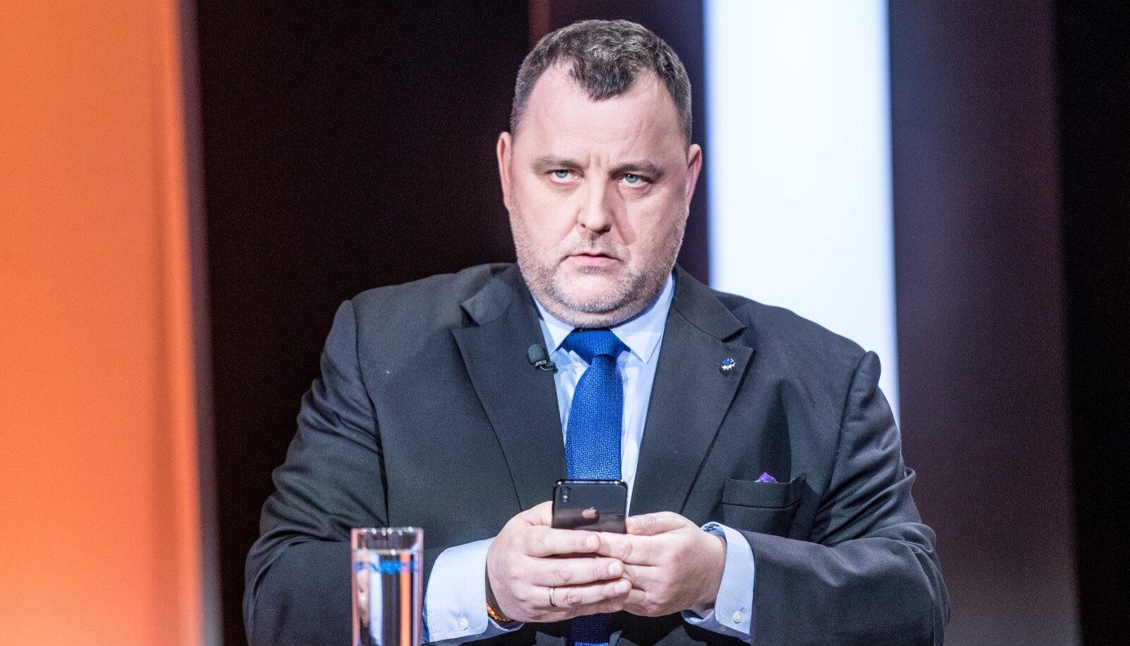 Riigikogu majanduskomisjoni esimees Sven Sester