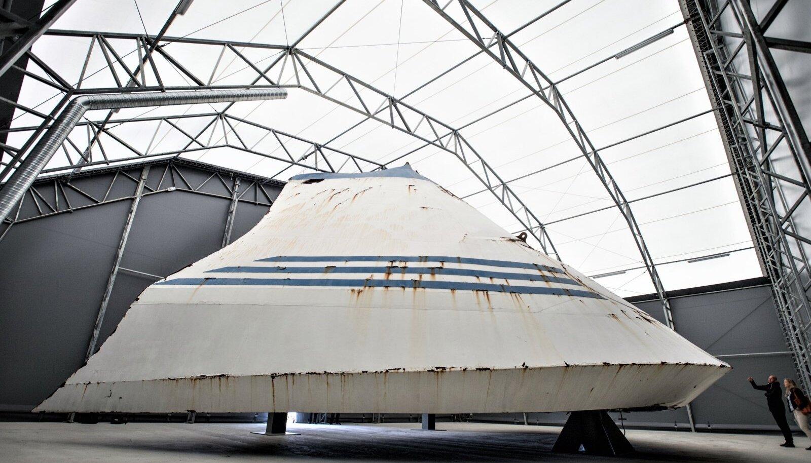 KURIKUULUS: Estonia visiir asub Rootsi mereväebaasis Muskö saarel.