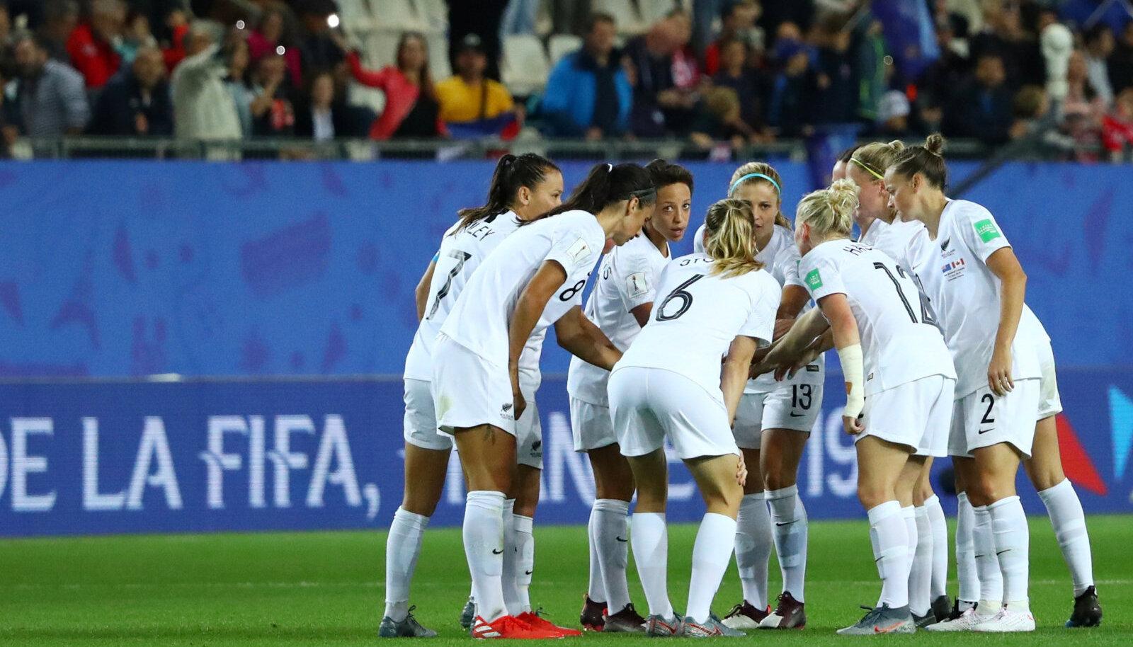 Uus-Meremaa naiste jalgpallikoondis