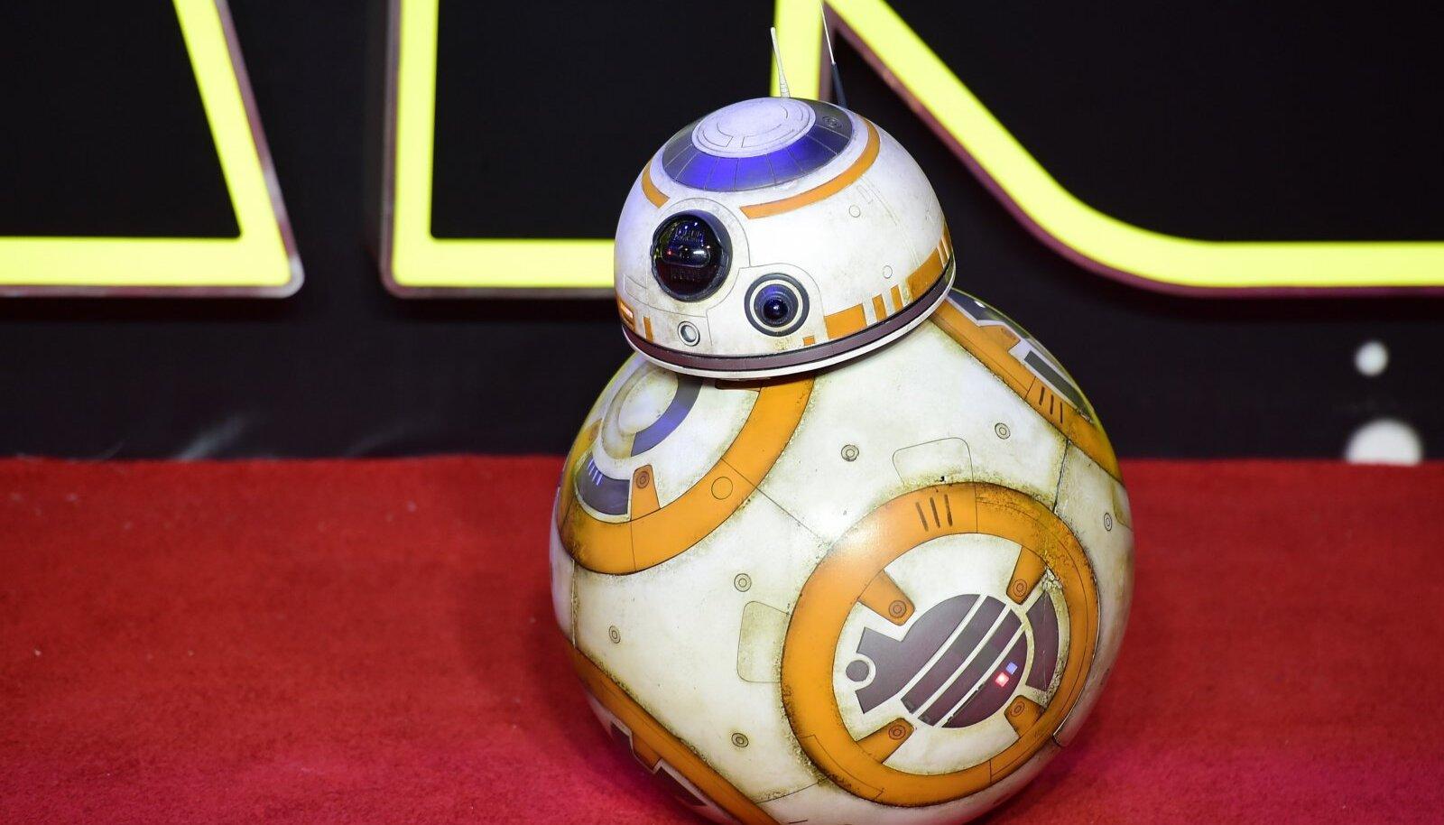 """Üle-eelmise aasta filmist """"Star Wars: Jõud ärkab"""" tuntud droid BB-8."""