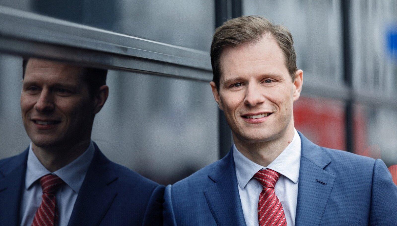 Danske panga tegevjuht Carsten Egeriis, kes asus sellele kohale aprilli keskel.