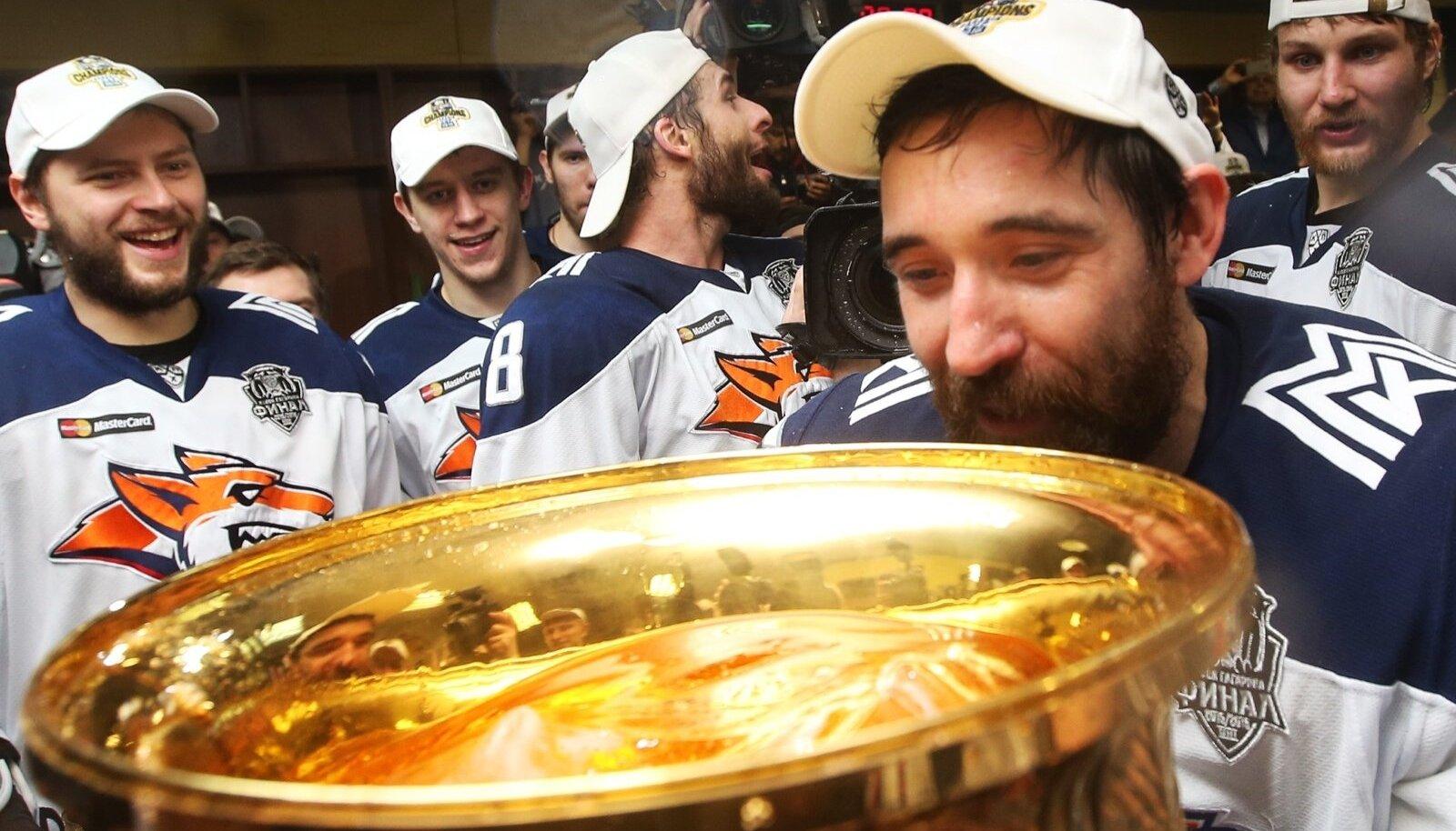 HC Metallurg Magnitogorsk wins 2016 KHL Gagarin Cup