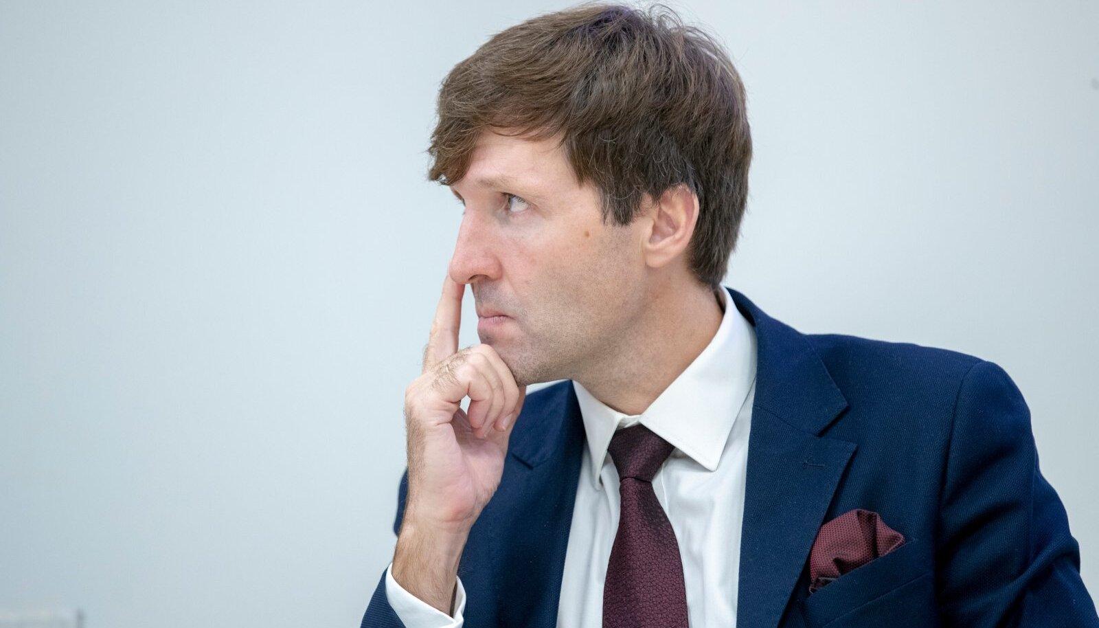 Martin Helme keeldus selgitamast, miks komisjoni valitud RAB juhi kandidaat talle ei sobinud.