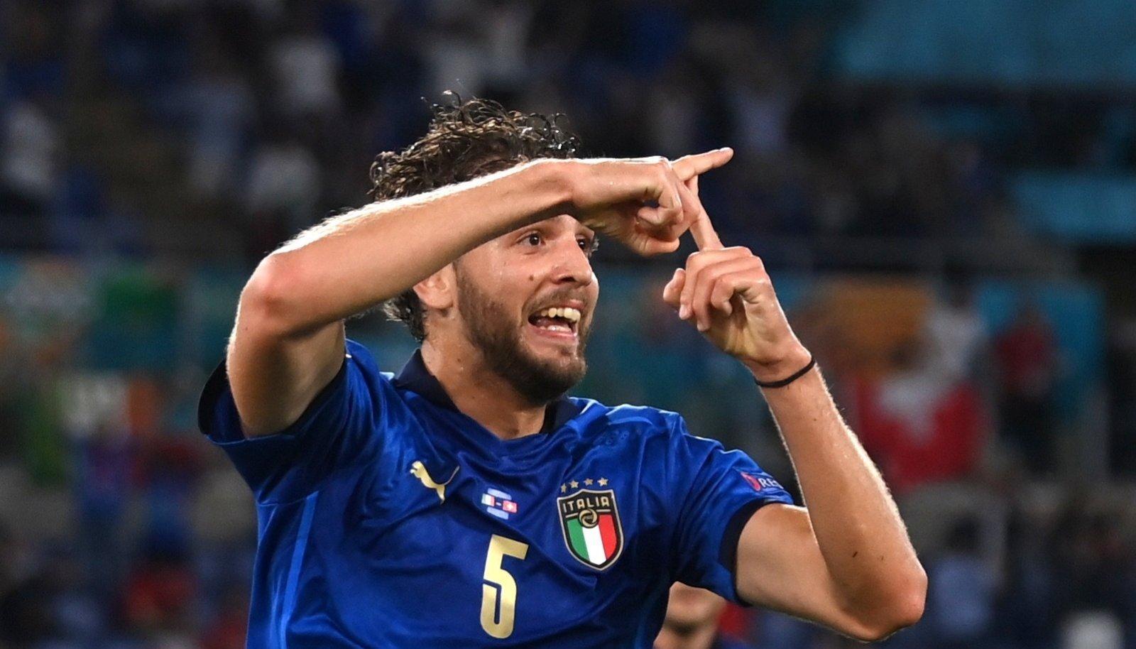 Manuel Locatelli viis Itaalia juhtima.