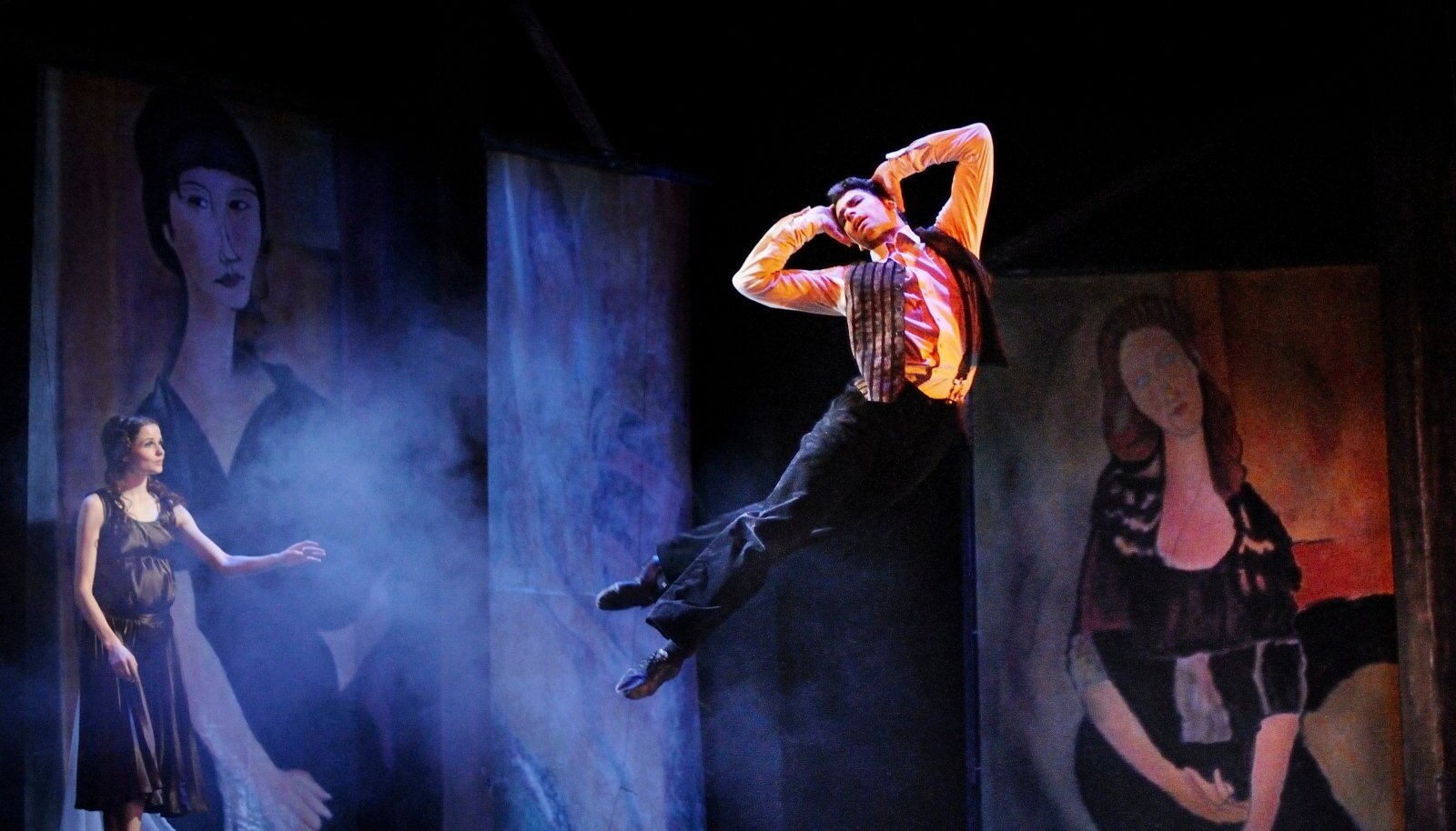 "oomas Eduri/Tauno Aintsi ballett ""Modigliani – neetud kunstnik"". Modigliani – Anatoli Arhangelski"