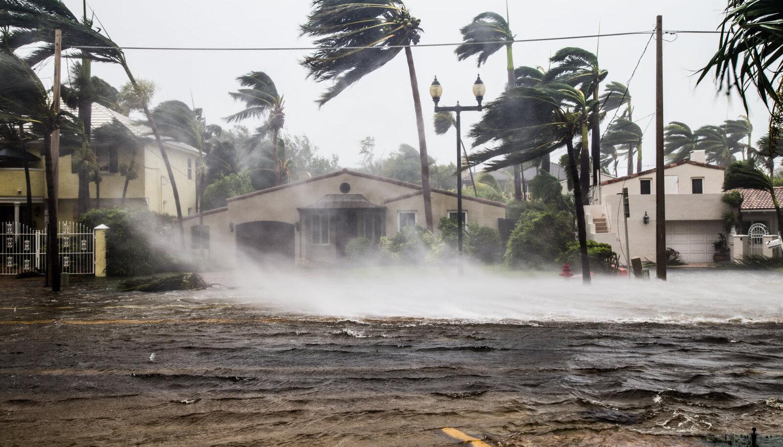 Orkaan Irma tekitatud üleujutus Floridas