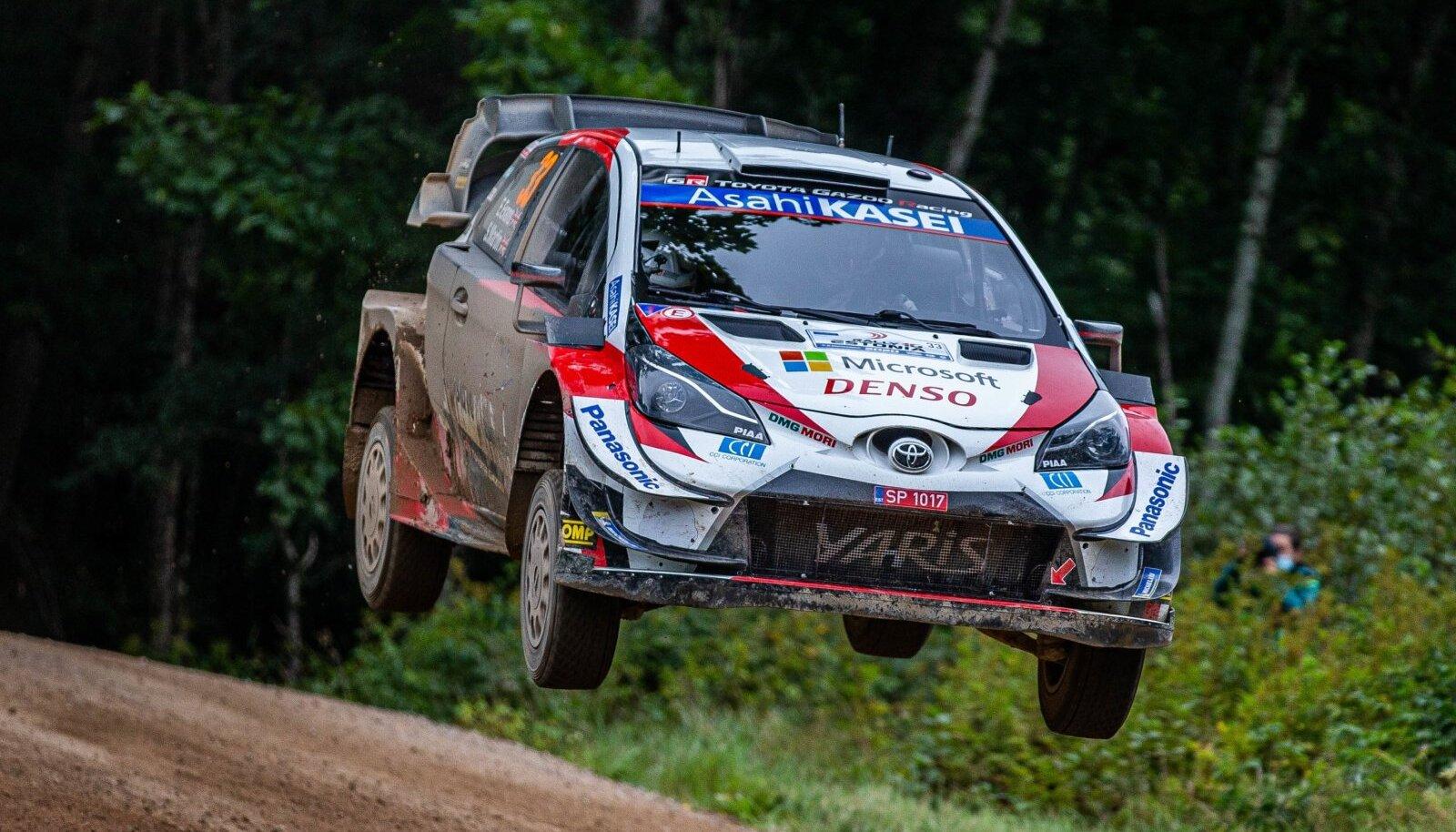 Elfyn Evans Rally Estonial.